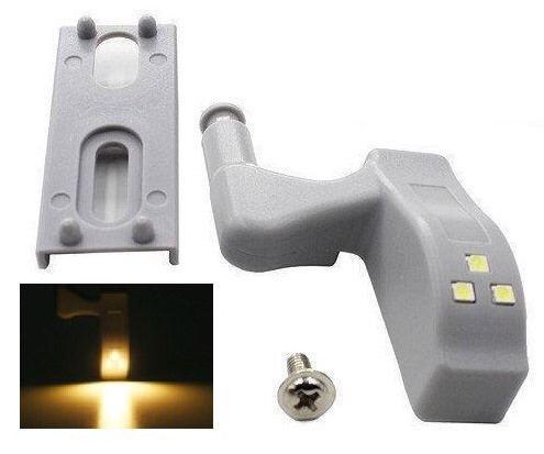 Світлодіодна LED підсвічування меблів шафи на меблеву петлю