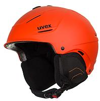 Шлем горнолыжный Uvex P1us L-XL Orange, фото 1