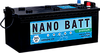 Аккумулятор NANO BATT  Premium - 205 (евробанка) (1400 пуск)2020!!!