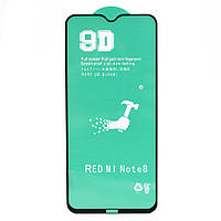 Захисна плівка Ceramics 9D Full Glue для Xiaomi Redmi Note 8T, Black
