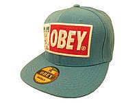 Кепка Obey голубая