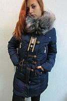 Куртка женская Assener 208 (c-3) тёмно-синяя код 729а