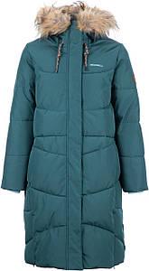 Зимнее пальто подростковое р.140,146,152 пуховик для девочки ТМ Merrell 101392-S4 морской
