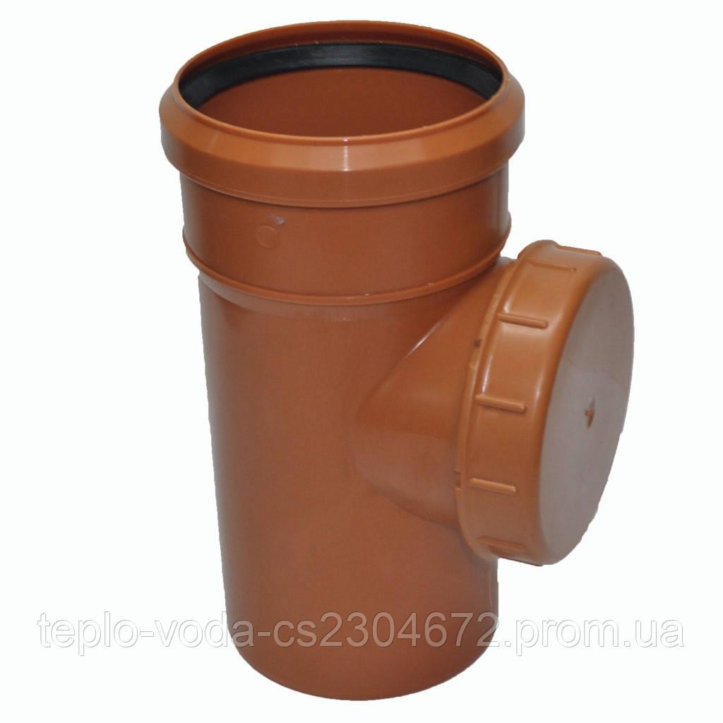 Ревизия ПВХ 315 для канализации