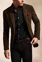 Мужской классический кэжуал костюм из микро вельвета . Размер 42-74+ батал плассайз, цвета на выбор, фото 1