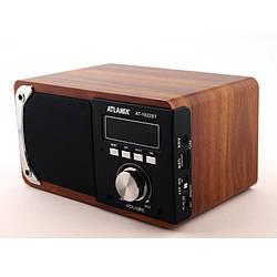 Портативна колонка ATLANFA AT-1822BT Радіоприймач Power Bank Bluetooth