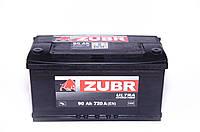 Акумулятор ZUBR Ultra - 90A +прав (720 пуск) 2018г