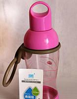 Бутылочка для воды 350мл. Для туризма, спорта, прогулок