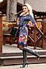 Стильное платье с ярким принтом, фото 2