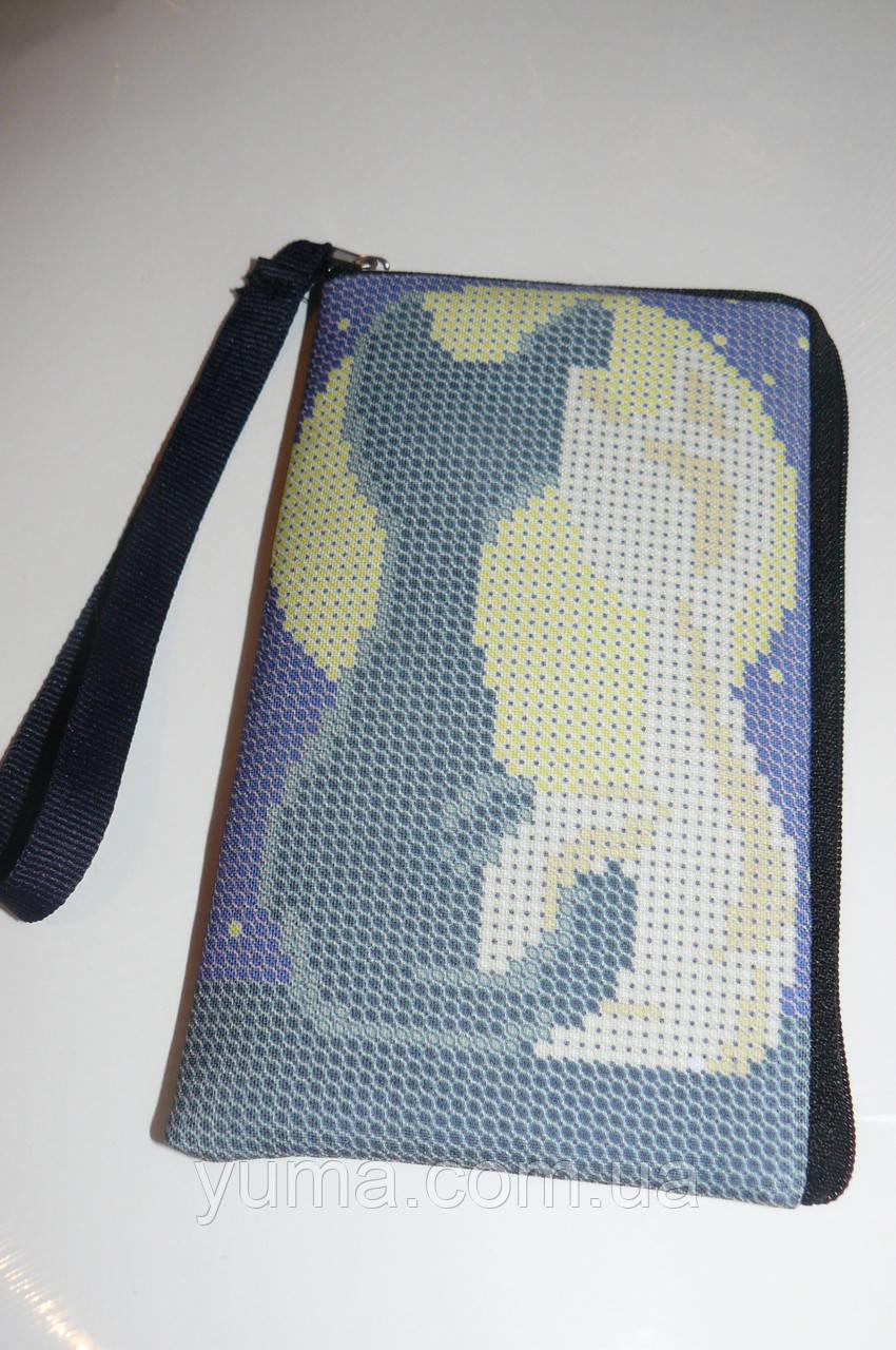 Заготовка Чехла для мобильного телефона под вышивку 8.5 на 14 см.