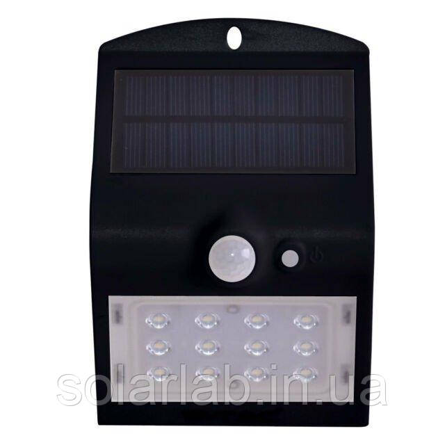 Светильник автономный уличный LED Solar V-TAC, 1.5W, SKU-8277, 4000К, датчик движения, черный