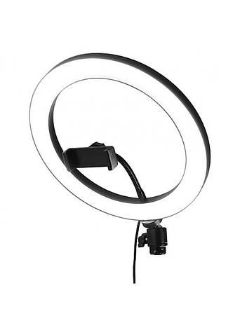 Кольцевая лампа для визажиста, без штатива, фото 2