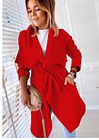 Женский стильный кашемировый тренч, фото 1