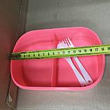 Ланч-Бокс детский для обедов Сова на 2 отсека, фото 6