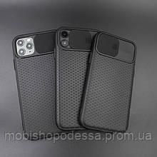 Чехол кейс для iPhone Slide Camera Case TPu