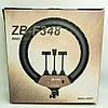 Кольцевая cветодиодная лампа Ring Light ZB-F348 60W (диаметр 45 cм) +пульт ДУ +штатив +сумка, фото 3