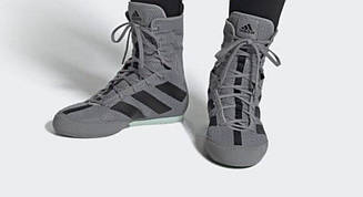 Боксерки Adidas Box Hog 3 (серые, EF2976)