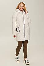 Куртка  демисезонная женская В 67 в размерах 48-56, фото 2