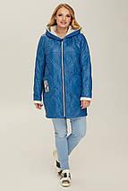 Куртка  демисезонная женская В 67 в размерах 48-56, фото 3