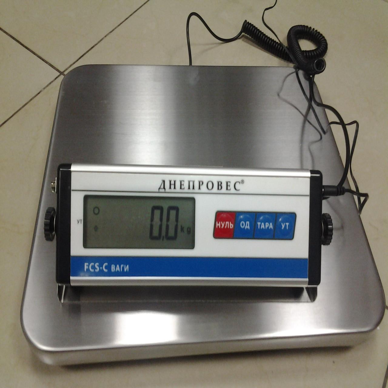 Весы напольные (переносные) FCS-C-150/300 (150 кг.300 кг)