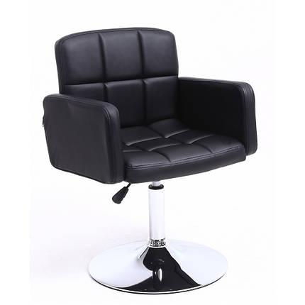 Крісло хокер Bonro B-869-1 чорне, фото 2