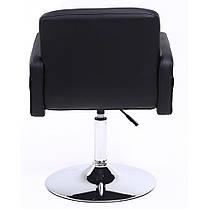 Крісло хокер Bonro B-869-1 чорне, фото 3