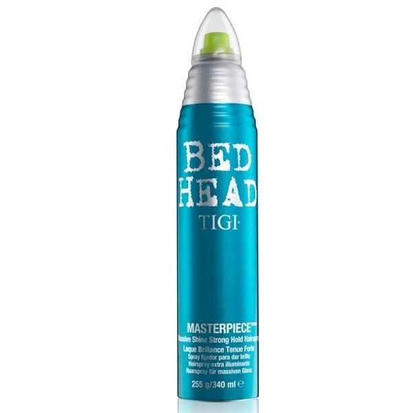 Tigi Bed Head Masterpiece Shine Strong Hold Spray - Лак сильной фиксации с интенсивн блеском, 340 мл
