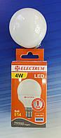 Светодиодная лампа Шар 4W Е14 LB-10