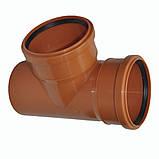 Тройник ПВХ 200х90 для канализации, фото 4