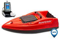 Карповый кораблик SOLO V2 GPS + Toslon TF500 Orange + GPS, Красный, + Toslon TF500