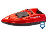 Карповый кораблик SOLO V2 GPS Orange + GPS, Красный, Не установлен
