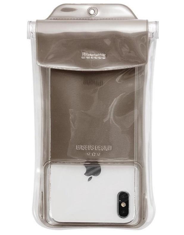 Чехол Baseus Safe Airbag Waterproof Case на Iphone 8+ Коричневый