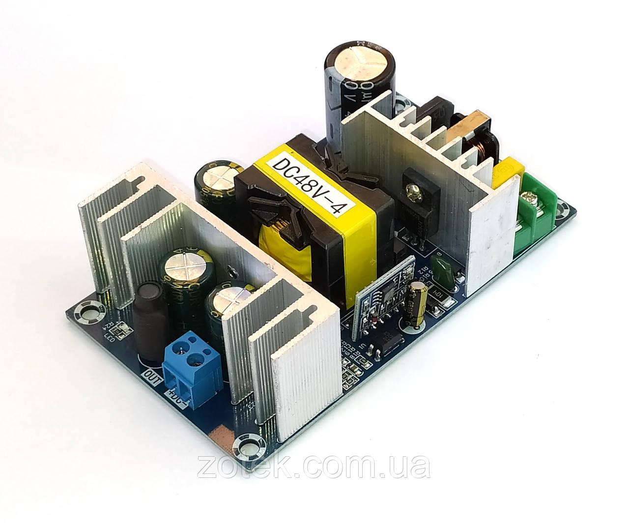 Microchip 48В 4А 5А 200 Вт Імпульсний блок живлення AC-DC 48V 4A 200W WX-DC4816