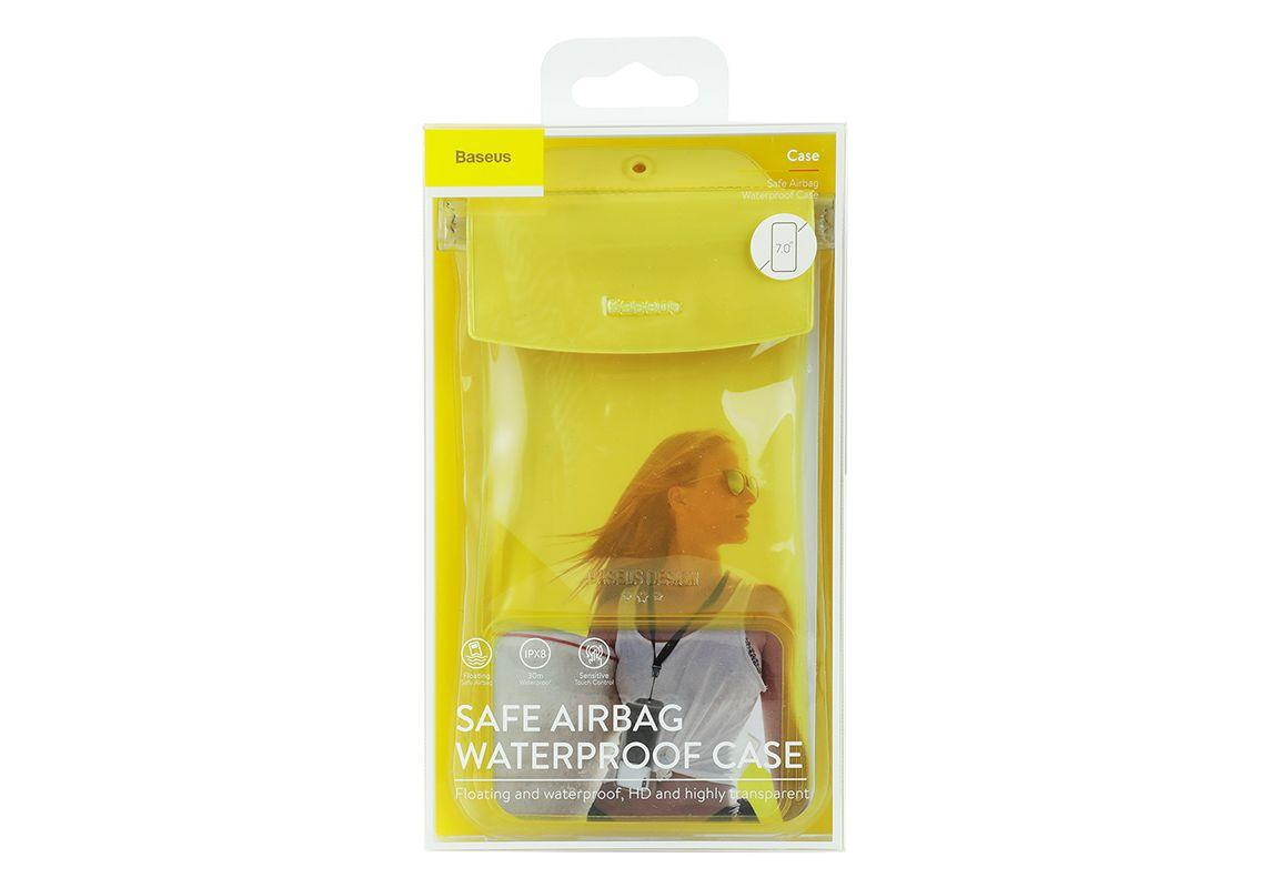 Чехол Baseus Safe Airbag Waterproof Case на Iphone 6S Plus Желтый