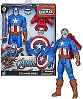 Фигурка Капитан Америка 30 см Avengers Marvel Captain America Оригинал от Hasbro