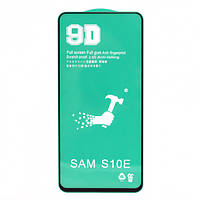 Защитная пленка Ceramics 9D Full Glue для Samsung S10e, Black