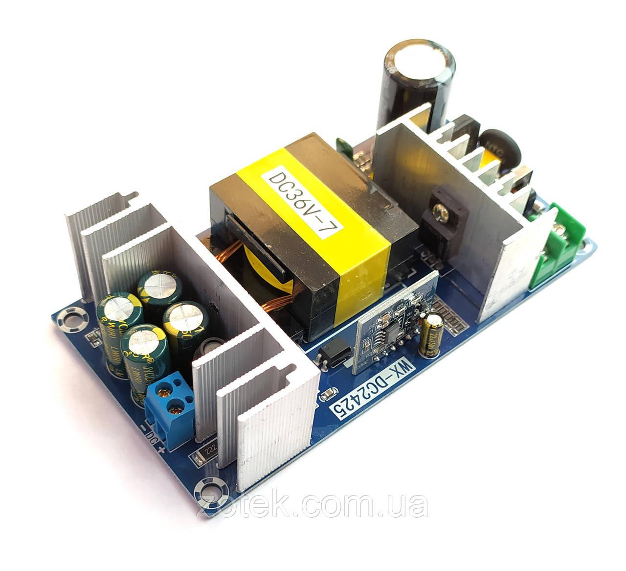 Microchip 36 Вольт 7-9 Ампер 250 Вт Імпульсний блок живлення AC-DC 36V 7A 250W WX-DC2425-36