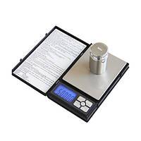Ювелірні ваги до 500 грам (0,01) у вигляді блокнота