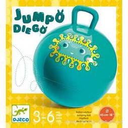Прыгающий мяч Jumpo Diego Djeco