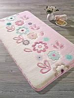 Коврик для ванной Confetti - April turkuaz (розовый) 57х100