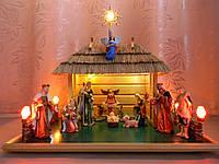 Вертеп Рождественский вертеп шопка фигурки (15 см) 725f304368240