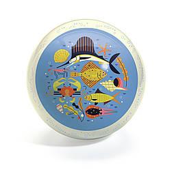 Мяч морская жизнь  Djeco 22см.