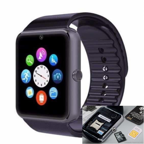 Smart Watch GT08 Умные смарт часы розумний годинник телефон смарт воч apple гт08 Корея не Китай с сим а1 a1