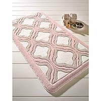 Коврик для ванной Confetti - Tiffany pudra (пудра) 57х100