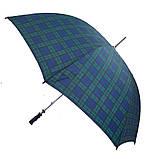 Зонт-трость чоловічий механічний INCOGNITO FULS617-black-watch, фото 3