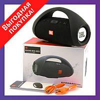 Портативная блютуз колонка JBL BOOMBOX MINI E10 с USB, SD, FM, Bluetooth - Разные цвета!