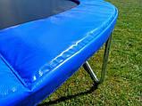 Батут Атлето 252 см для детей с защитной сеткой, садовий для дома и дачи, фото 3