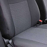 Чехлы на сиденья Renault Duster 2015- (раздельная) Nika, фото 3