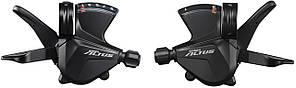 Манеткипереключения скоростей Shimano Altus SL-M2000, комплект, (3х9 скоростей)