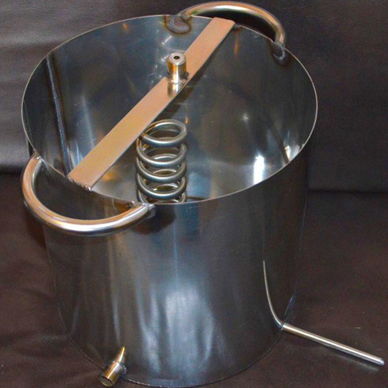 Відкритий охолоджувач для побутового дистилятора